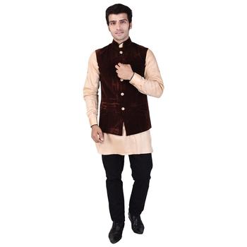 Brown Velvet Modi Jacket