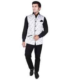 White Cotton Modi Jacket