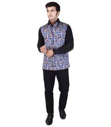Multicolor Cotton  Modi Jacket