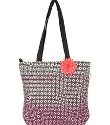 Buy Shaded Pink Canvas Tote Bag clutch online