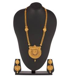Peshwa Bajirao inspired Gold Necklace set for woman