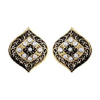 Gleaming Gold Plated Stud Earring For Women