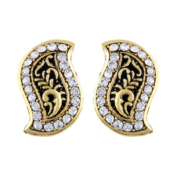 Enchanting Gold Plated Stud Earring For Women