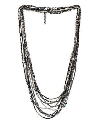 Black beaded_jewellery necklaces