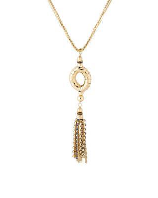 Gold plain pendants