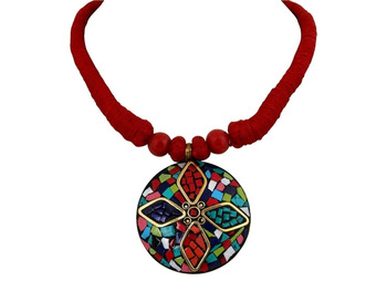 Indian Haritage Round Necklace