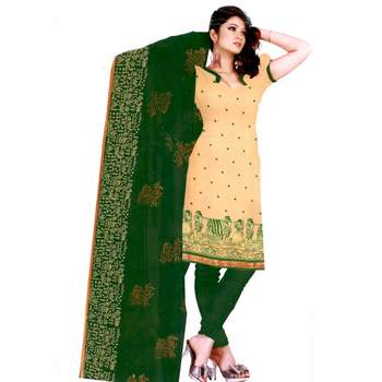 Multicolor embroidered chanderi salwar