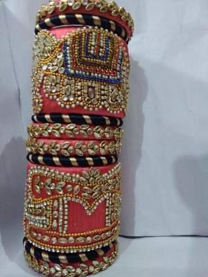 Pink bangles-and-bracelets