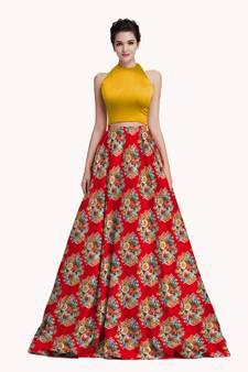 2a2bcf05c0 Crop Top Lehenga Online | Buy Crop Top Lehenga Choli for Girls