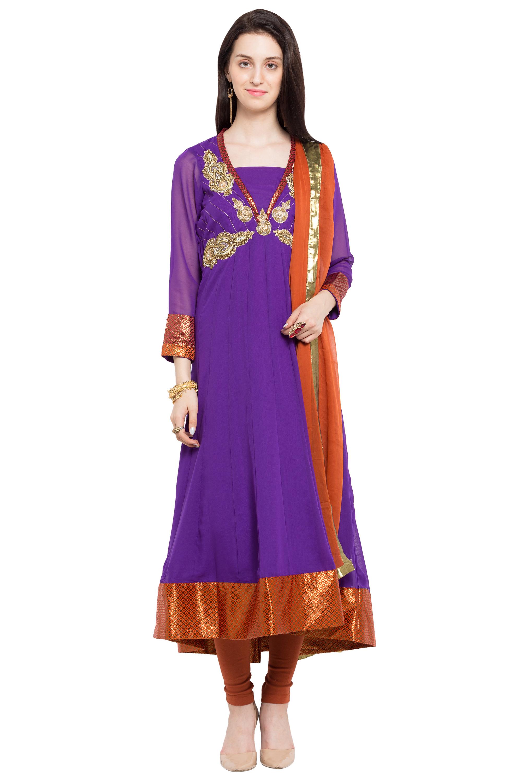 Plus Size Salwar Kameez Indian Suits Online Kemeja Lavender Multicolor Shop At Velvet Large Xl