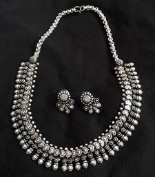 Buy Silver necklace-sets necklace-set online