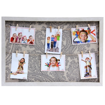 Beige Printed Back Collage Photoframe For Mother'S Day