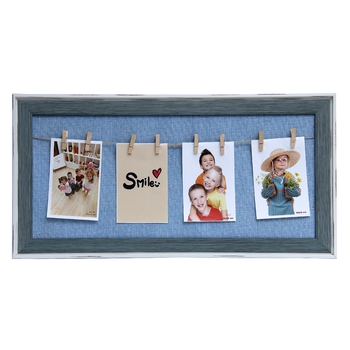 Blue Lanscape Collage Photoframe For Mother'S Day