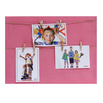 Solid Pink Shade Collage Photoframe For Mother'S Day