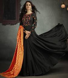Buy Black Rayon Readymade Suits readymade-suit online