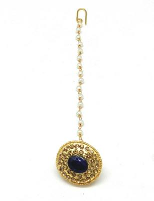 Traditional Borla With Fine Brass And Decorated With Crystal Stones