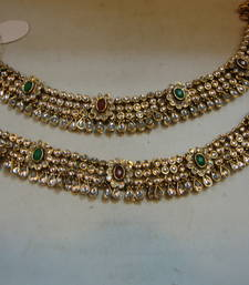 Buy Design no. 21.436....Rs. 2750 anklet online