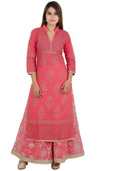 Stand Collar Designs For Kurti : Women s kurtis online designer indian kurti kurta at best