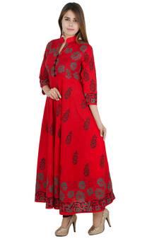 a66d5c50c1 Long Kurtis - Buy Designer Long Kurti Online for Girls @ Best Price
