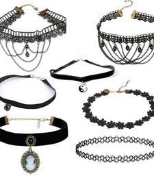 Buy Black pearl chokers choker online