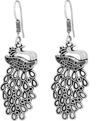 Peacock Dangler earrings