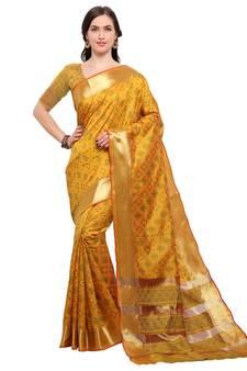 aa8bd1edf64b95 Ikat Sarees, Pochampally saree Online shopping, Ikat Cotton Silk Sari