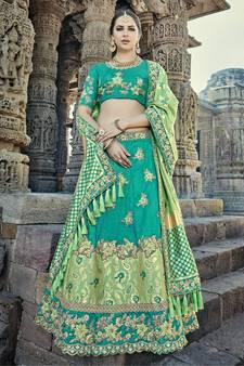 613a441efc Silk Lehenga Online - Buy Silk lehenga Choli with Dupatta