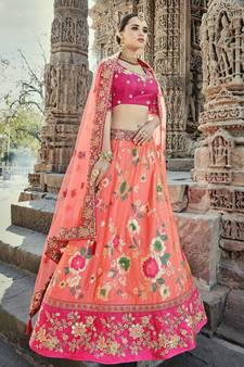 7590132312f9bd Silk Lehenga Online - Buy Silk lehenga Choli with Dupatta