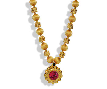Long Saaj Ghat Haar Necklace
