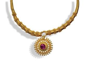 Rava Pandal Paip Thushi Necklace
