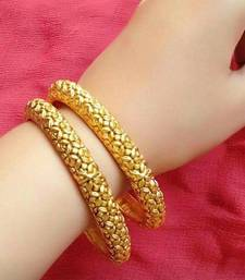 Copper Gold Lookalike Bangle Set