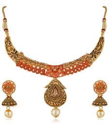 Orange Necklaces