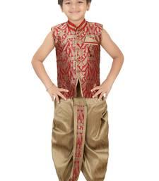Buy Multicolor kids boys ethnic dhoti kurta set boys-dhoti-kurtum online