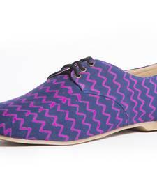 Buy women's pink eva fabric oxfords shoe footwear online
