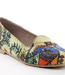 Buy women's green tpr sole material loafers shoe footwear online