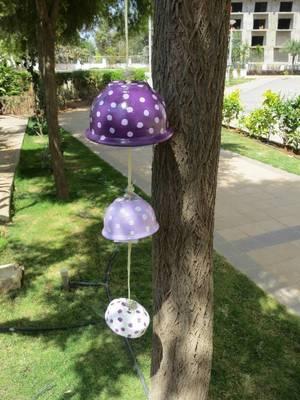 Purple hanging (set if 3)