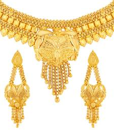 Buy Gold necklace-sets women-ethnic-wear online