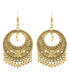 Gold earrings earring