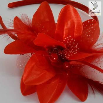 Cindrella Red Hairband
