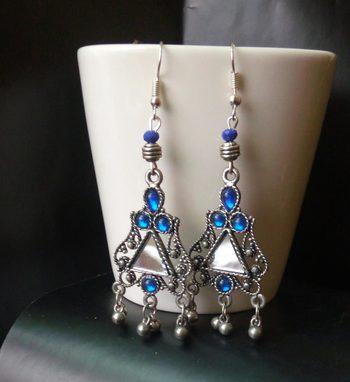 Blue Color Trendy Danglers