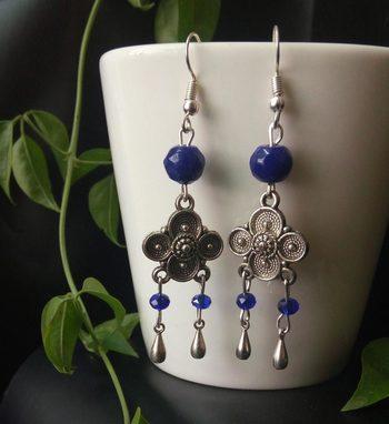 Blue Trendy Earrings