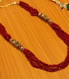 Ruby Antique Look Necklace