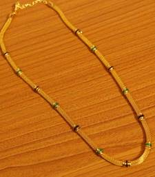Gold Plated Meenakari Pendant Chain / Necklace