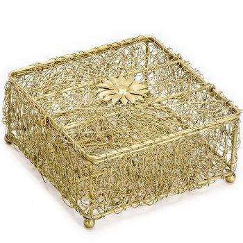 Golden Jaal Patterened Gift Box
