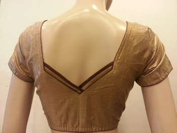 Golden shimmer blouse
