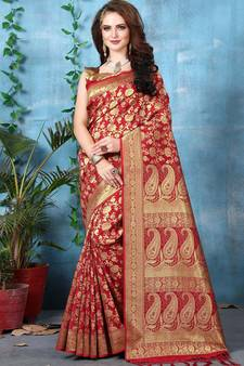 7c9786e7a3 Banarasi Silk Sarees - Buy Pure Designer Banarasi Silk Saree Online