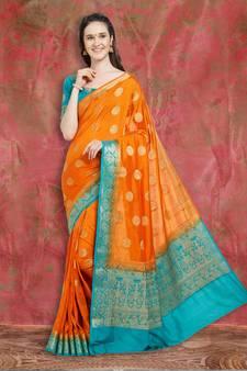 d14c50351d2ef Banarasi Silk Sarees - Buy Pure Designer Banarasi Silk Saree Online