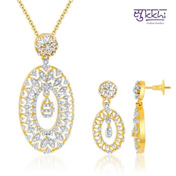 Sukkhi Marvellous Gold and Rodium plated