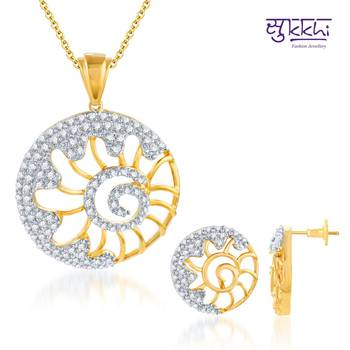 Sukkhi Incredible Gold and Rodium plated