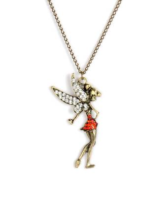 Vintage Wing Angel Chain Necklace(CFN0052)